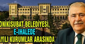 ONİKİŞUBAT BELEDİYESİ, E-İHALEDE SAYILI KURUMLAR ARASINDA
