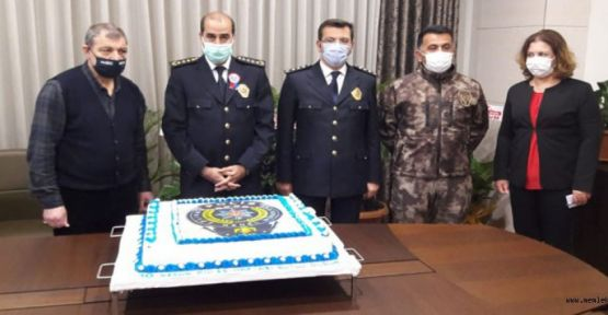 MADO'DAN POLİS TEŞKİLATINA ÖZEL PASTA