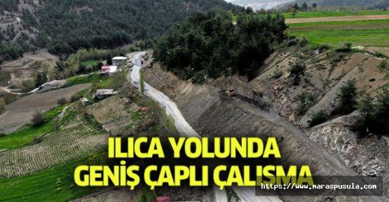 ILICA YOLUNDA YOĞUN ÇALIŞMA VAR