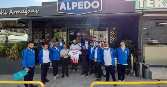 AMPUTE FUTBOL TAKIMINA MORAL ALPEDO'DAN GELDİ