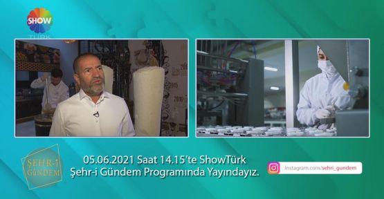 KERVANCIOĞLU, SHOW TELEVİZYONUNDA