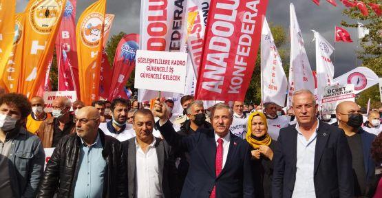 """GELECEK PARTİSİ SENDİKAL KOTA HUKUKSUZLUĞUNA """"DUR"""" DEDİ"""