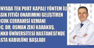 DOÇ. DR. KARAKUŞ SANKO ÜNİVERSİTESİ HASTANESİ'NDE