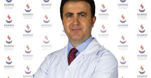 GENEL CERRAH DOÇ. DR. YÜKSEL, SANKO HASTANESİNDE