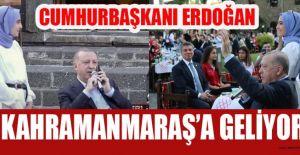 CUMHURBAŞKANI ERDOĞAN ŞEHRİMİZİ ŞEREFLENDİRECEK!